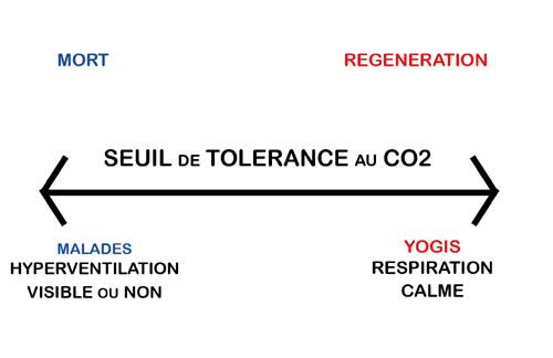 Seuil de tolérance au CO2