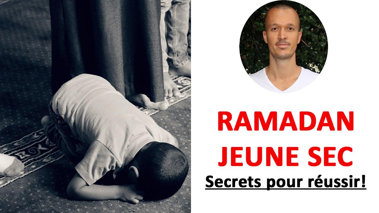 Ramadan: comment tenir et faire son jeûne sec?