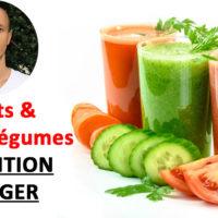Danger des fruits et jus de légumes (en manger trop) ?