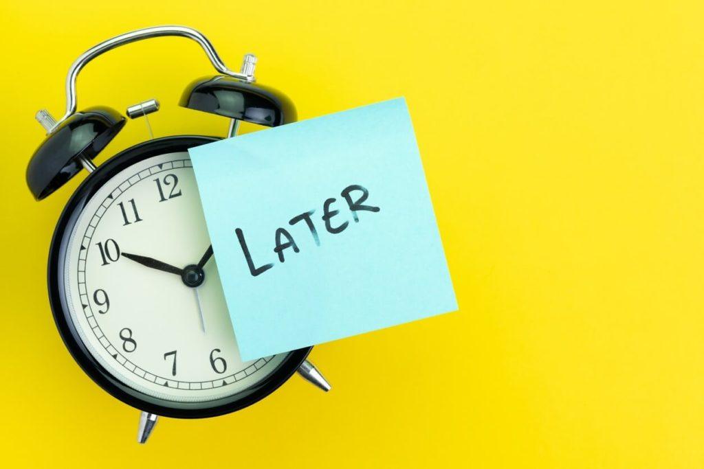 Procrastination: comment arrêter de tout remettre au lendemain