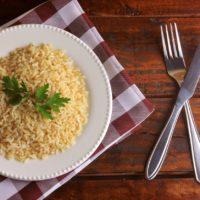 Régime macrobiotique à base de riz complet?