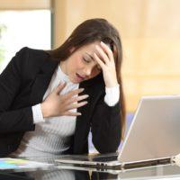 Sensation d'étouffement et de stress: que faire?